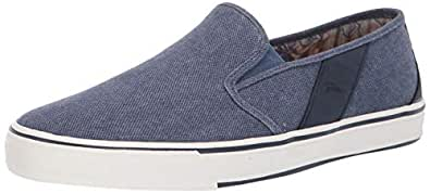 Tommy Bahama Men's Pacific Ridge Sneaker, Navy Washed, 7.5 D US