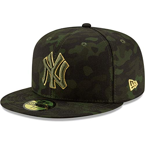 New Era New York Yankees 2019 MLB Armed Forces Day On-Field 59FIFTY Fitted Hat - Camo (7)