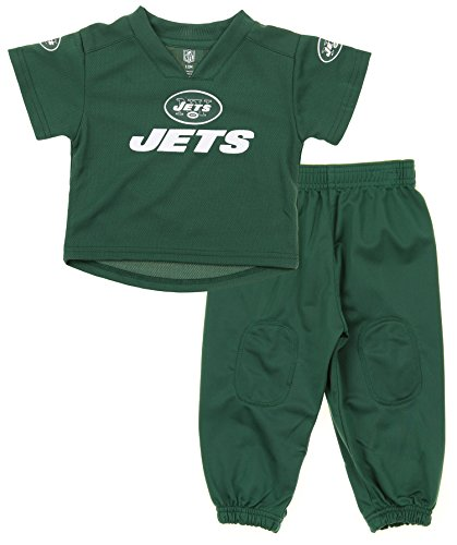NFL Infants and Little Boys Extra Point Shirt and Pants Set, New York Jets, 18 Months - New York Jets Infant