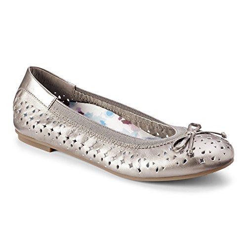 Spark Surin Ballet Flat Pewter 10W
