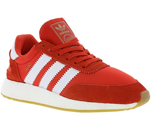 Adidas Herren Rot Baskets Coureur Iniki (rouge / Blanc Chaussures / Gomme)