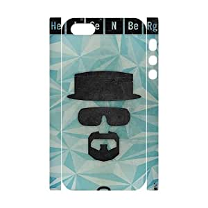 YUAHS(TM) Personalized 3D Hard Back Phone Case for Iphone 5,5S with Heisenberg YAS953348