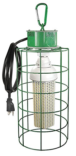 60 Watt Led Temporary Job Site Light With A Steel Cage & 6 Ft Power Cord-1 per case
