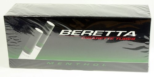 Beretta Menthol King Size Cigarette Tubes (200ct per box - 5 Boxes)