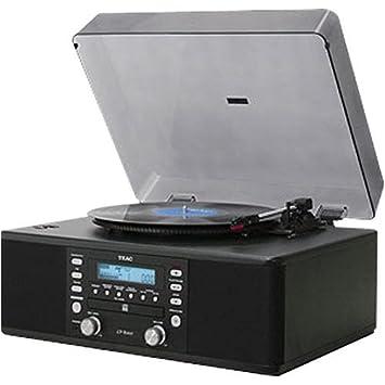 Amazon.com: TEAC lp-u200 Tocadiscos USB grabador y CD/Radio ...