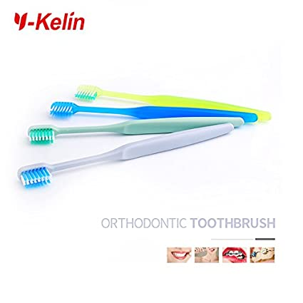 Y-kelin U-shaped Orthodontic Toothbrush 4 color pack (4 pieces) Anhui Greenland Biotech Co. Ltd