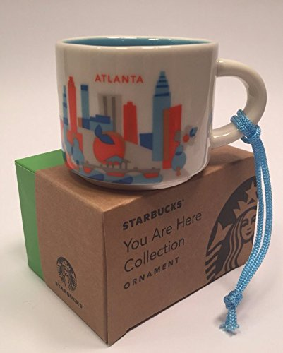 Starbucks Here 2 Demitasse Mug011057852 You Ornament Are Atlanta Collection Oz odCBxe