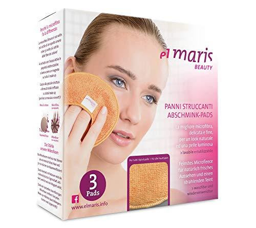 Miliamp 3 Packs Italian Reusable Makeup...