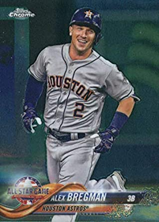 detailing a5e38 a3eda Amazon.com: 2018 Topps Chrome Update #HMT82 Alex Bregman ...
