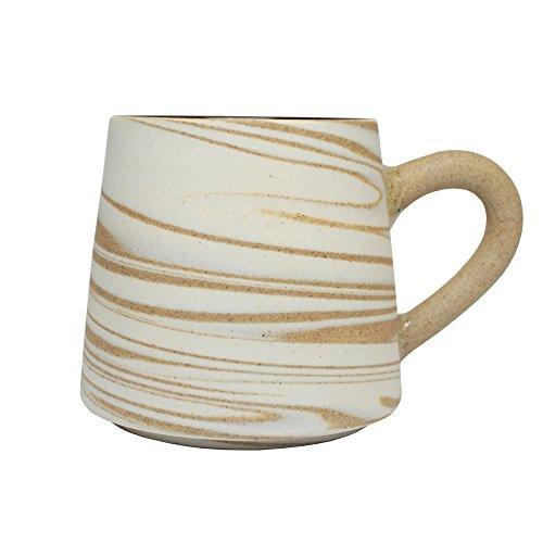 Original Handmade Ceramic Large Size Coffee Mug Cup (Color 2)