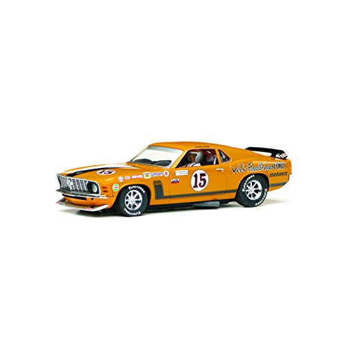 Scalextric C3651 Ford Mustang Boss 302 1969 Trans-Am Championship Parnelli Jones Slot Car (1:32 Scale)