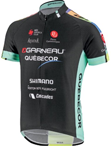 Equipe Short Sleeve Cycling Jersey - Louis Garneau 2017 Men's Equipe Pro Replica Short Sleeve Cycling Jersey - 7820805 (GARNEAU-QUEBECOR - M)