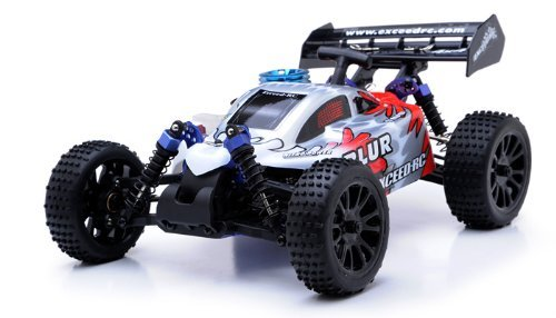 Exceed RC 1/16 Blur Nitro Remote Control RC Buggy (MaxRed 2.4G RTR) STARTER KIT REQUIRED AND SOLD SEPARATELY (Rc Mini Nitro)