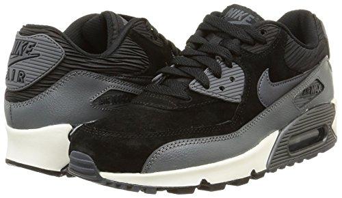 Black 90 mtlc Para sl Air Calzado Nike Lthr Hematite drk Gry Deportivo Wmns Max Mujer vntcwgqza