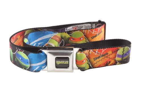 Teenage Mutant Ninja Turtles Group Character Seatbelt (Turtle Belt)