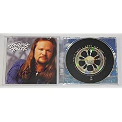 Travis Tritt Down the Road I Go Signed Autographed Music Cd Compact Disc Loa