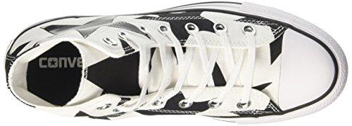 Converse Women's CTAS Hi Sneakers Multicolor (White/Black/White) O6Y369DFB