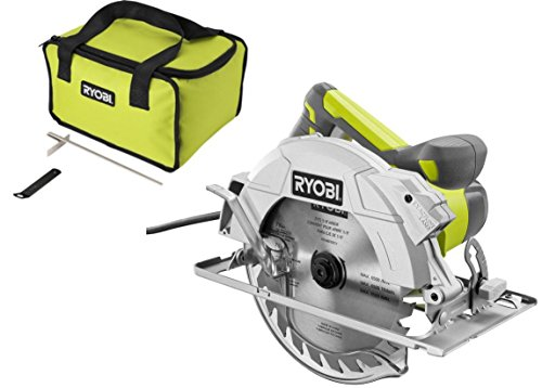 Ryobi 15 Amp 7-1/4 in. Corded Circular Saw with Laser Light and Tool Bag