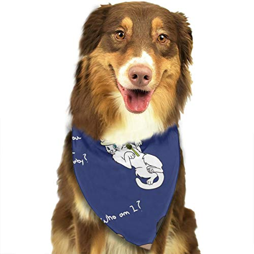 OURFASHION Doctor Who Cats Bandana Triangle Bibs Scarfs Accessories for Pet Cats and Puppies -