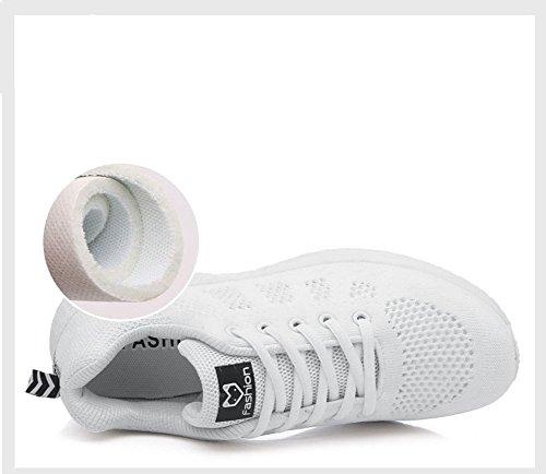 respirables nuevos Walking Cordón Shock Mujeres Absorbing Sports Los Gimnasio ligero Segundo Running verano Trainers Sports zapatos Zapatos Air de Student Bubble ocasionales Shoes SHINIK nA7qHUFzz