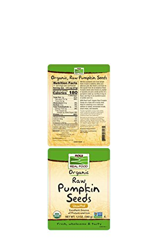 Now Foods Organic Pumpkin Seeds, 12 Ounce