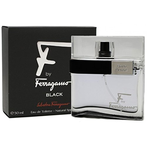 Salvatore Ferragamo F Ferragamo Black By Salvatore Ferragamo For Men Eau De Toilette Spray, 1.7-Ounce / 50 Ml