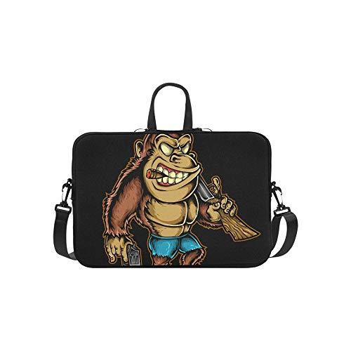 Laptop Bag Rappers Rap and Hip-hop Shoulder Bag Crossbody Bag Adjustable for Men Women Students Teens Business Travelling Classes College