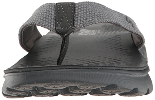 Skechers Performance Männer On The Go 400 Flip Flop Kohle Leinwand