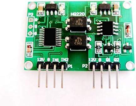 双方向電圧信号絶縁モジュール 電圧0〜5V 2チャンネルリニア変換トランスミッタモジュール 絶縁信号
