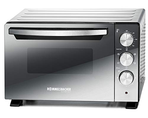 Rommelsbacher BGS 1400 Horno y Parrilla, Acero Inoxidable