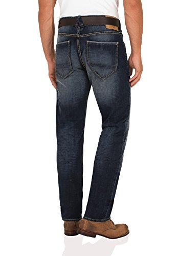 Paddock´s Herren Jeans Jeanshose Scott tight fit low rise Waschung 4412  dark stone heavy used W 32 38