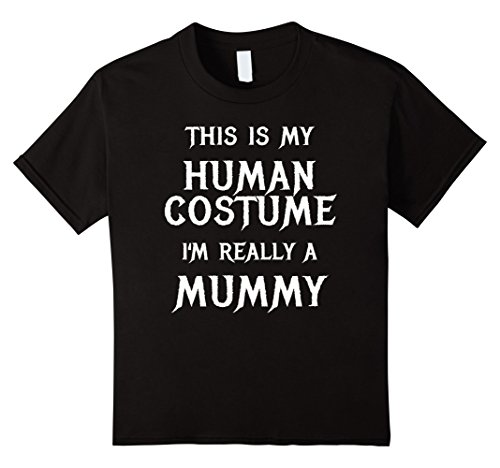 Diy Boy Mummy Costume - Kids Mummy Halloween Shirt Easy Costume Men Pregnant New Mom 6 Black