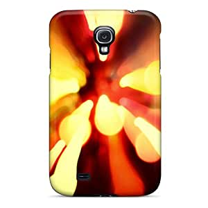 New Arrival Cover Case With Nice Design For Galaxy S4- Lava Effect