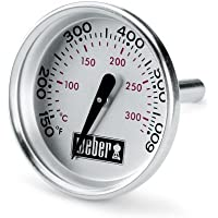"Weber 60540 Charcoal, Spirit, Q Grill Replacement Thermometer, 1-13/16"" Diameter"