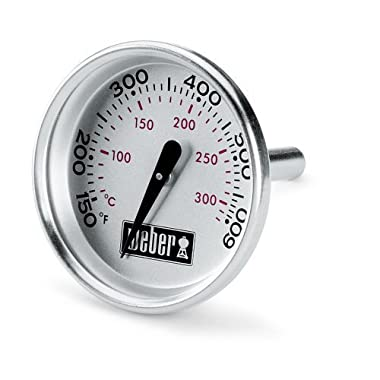 Weber 60540 Charcoal, Spirit, Q Grill Replacement Thermometer, 1-13/16  Diameter
