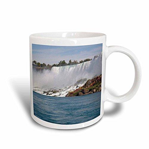 3dRose Canada, ontario, Niagara Falls. Walking The Falls-Cn08 Lse0004 Lynn Seldon Ceramic Mug, 11 oz, - Ontario Falls Outlet Niagara