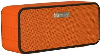 Bass Effect Audio XV Orange Wireless Bluetooth Hands-Free Speaker with Clear Talk Mic