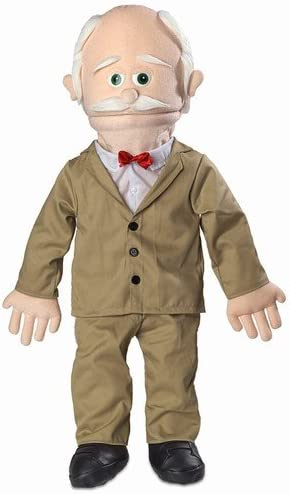 Black Grandfather 30 Pops Full or Half Body Professional Performance Puppet with Removable Legs