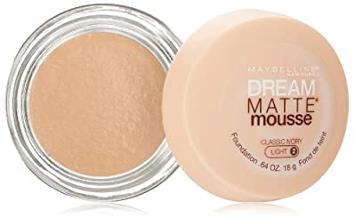 Maybelline New York Dream Matte Mousse Foundation, 0.64 Ounce