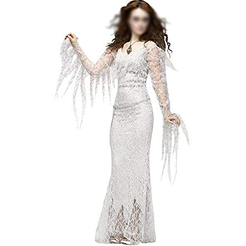 ZBBNK Costumes Women Halloween Ghost Bride Costumes Ghost Party Role Playing(2,L)]()