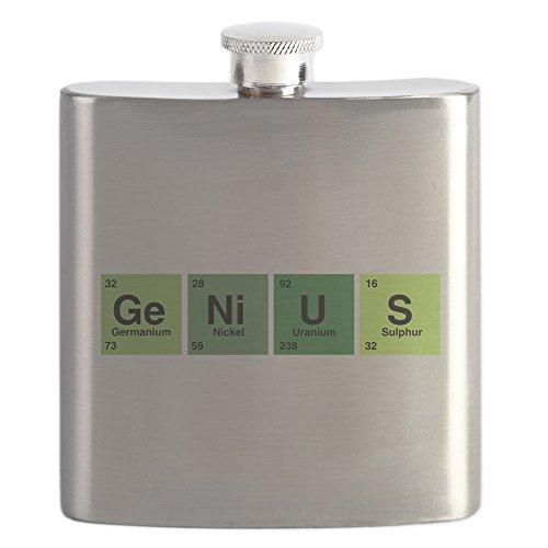 (Hip Flask Genius Periodic Table of Elements)
