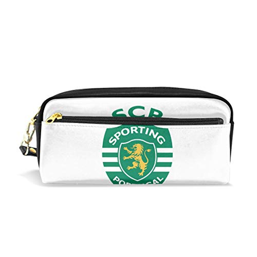 - SCP Sporting Lisbon Pencil Case Large Capacity Pen Bag - Makeup Bag Stationery Bag Cosmetic Bag