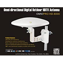 LAVA OmniPro HD-8000 omni-directional HDTV Antenna