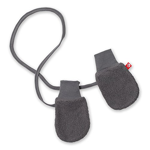 (Zutano Unisex Baby Cozie Lined Mitten (Baby) - Gray - One Size)