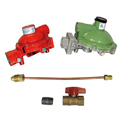 Cavagna Kosan Regulator Home Propane Supply Kit 984HP-04 998LP-03 3/4 Backmount