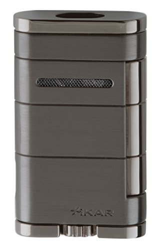 Xikar 9684GM Allume Double Jet Flame Lighter in Gun Metal