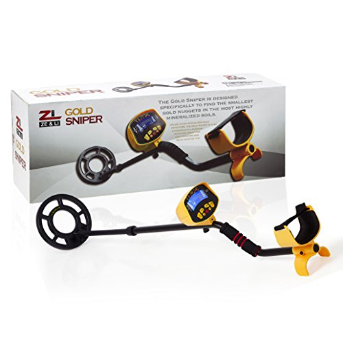 Metal Detector Cold Sniper Lightweight Bounty Hunter LCD display device by Ze&Li