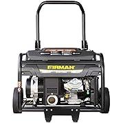 Firman Generators ECO7000 13 HP Gas Powered Portable Generator and Wheel Kit