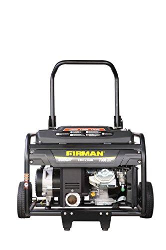 Firman Generators ECO7000 13 HP Gas Powered Portable Generator and Wheel Kit -  Sumec