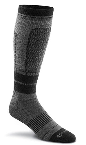 Fox River Ski Socks (FoxRiver Whitecap Ultra-Lightweight Over-The-Calf Ski Socks, Large, Black)